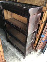Mahogany Barrister 3 Stack Bookcase 5 pieces in Cherry Point, North Carolina