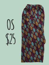 LuLaRoe OS leaf leggings in bookoo, US