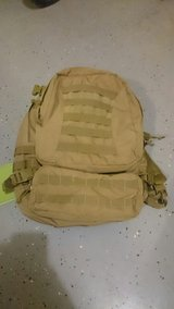 Coyote tan assault pack in Fort Campbell, Kentucky