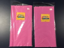 Hot Pink Plastic Table Clothes in Joliet, Illinois