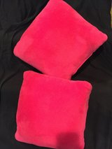 Two Pink Throw Pillows in Lockport, Illinois