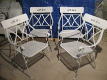 4 Cute Wrought Iron Chairs in Lockport, Illinois