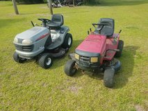2 Riding Mowers  (Need Work) in Camp Lejeune, North Carolina