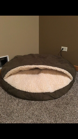 Cozy Cave Dog Bed- X large in Lockport, Illinois
