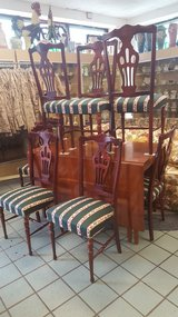 DRIPLEAF TABLE & 8 CHAIRS in Camp Lejeune, North Carolina