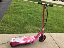 Razor electric scooter E100 - pink in Morris, Illinois