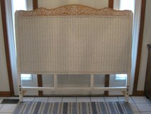 Queen Bedroom Set with Pier One Headboard and Nightstand(Jamaica Collection) in Lockport, Illinois