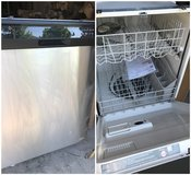 Never used Whirlpool Black & Stainless Steel Dishwasher in Lockport, Illinois