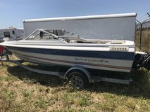Bayliner boat and trailer in Fairfield, California