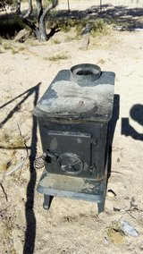 Wood Stove in Yucca Valley, California