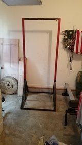 Metal pull up bar in Fort Campbell, Kentucky