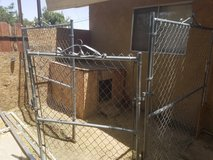 Fencing in 29 Palms, California