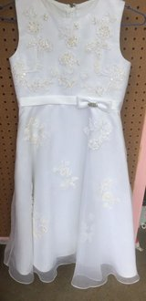Girls White Dress in Naperville, Illinois