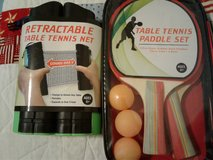 Table tennis set in Fort Campbell, Kentucky