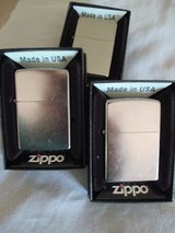 Zippo lighter Polished Chrome in Conroe, Texas