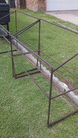 racks for fire wood or trash cans in Lawton, Oklahoma