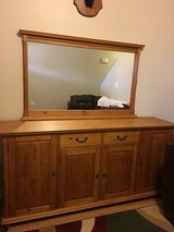 Buffet/cabinet and mirror in Lawton, Oklahoma