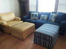 ****CINDY CRAWFORD COUCH W/ CHAIR AND OTTOMAN *** in Kingwood, Texas