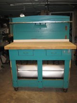 Repurposed Work Bench in Naperville, Illinois