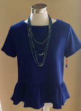 Blue Scoop neck shirt in Katy, Texas