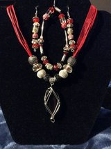Hand Crafted Jewelry Sets.Red in Leesville, Louisiana