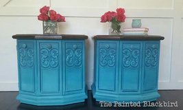 Turquoise Hombre Cabinets in Bartlett, Illinois