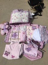 Girl crib bedding in Fort Rucker, Alabama