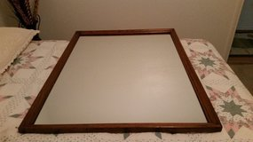 Mirror, oak frame in Denton, Texas