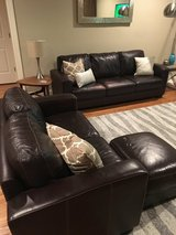 2 couch & ottoman set in Naperville, Illinois