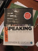 The Art of Public Speaking (college text book) in Travis AFB, California