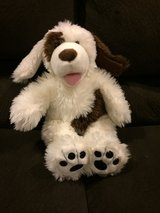 Reduced: Buildabear Brown & White Dog in Oswego, Illinois