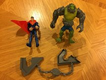 Reduced: Superman Figure Set in Chicago, Illinois