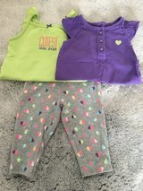 Carter's 6 months girls onesies and pants in Okinawa, Japan