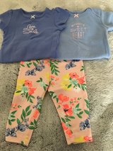 Carter's girl onesies and pants 6 months in Okinawa, Japan