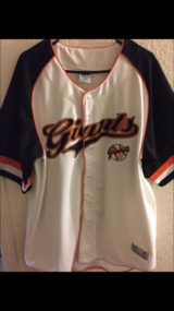 Sf Giants Jersey size 2x in Travis AFB, California