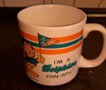 GARFIELD I'M A DOLPHINS FAN-ACTIC! MUG in Ramstein, Germany