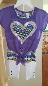NEW Girls 2pc Outfit Size M 5/6 in Okinawa, Japan