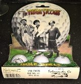THE THREE STOOGIES GOLF BALL SET YEAR 1996 in Ramstein, Germany