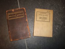 WWI and WWII U.S. Army Field Manuals Grouping in Bamberg, Germany