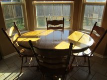 Solid Oak Kitchen Table - No chairs in Naperville, Illinois