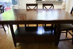 Large Bar Height Dining Table and 8 Chairs in Stuttgart, GE