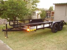 16 Ft. Tandem Axle Trailer in Alamogordo, New Mexico