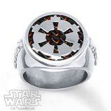 Men's Star Wars Band Imperial Crest Stainless Steel in Fort Campbell, Kentucky