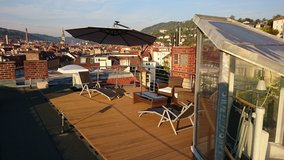 Beautiful Penthouse downtown Stuttgart with roof terrace - 2 BR in Stuttgart, GE