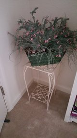 Metal plant stand with plant in Bolling AFB, DC