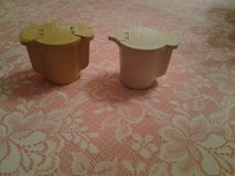 Vintage Tupperware Creamer and Sugar Container in Eglin AFB, Florida