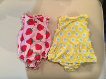 Carter's romper & dress...size 9 months in Yorkville, Illinois