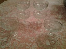 Vintage Cut Glass Sherbet Glasses in Eglin AFB, Florida
