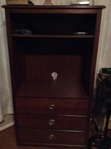 ***TALL Wooden TV Stand With Drawers*** in Kingwood, Texas