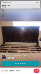king bed and long dresser in Travis AFB, California